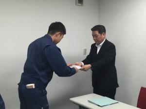 新人社員研入社式 修_7142